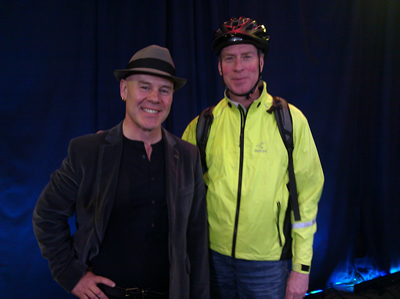 Kevin with Thomas Dolby